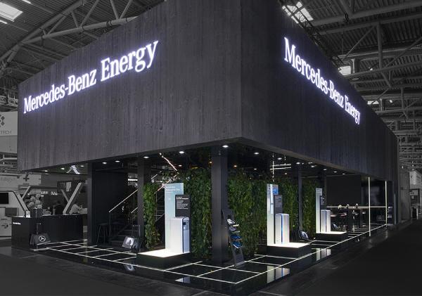 Mercedes Benz Energy Messestand